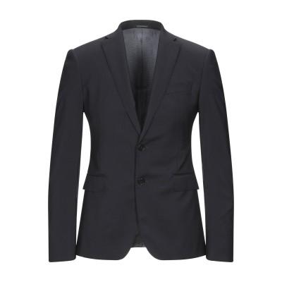 エンポリオ アルマーニ EMPORIO ARMANI テーラードジャケット ダークブルー 46 バージンウール 100% テーラードジャケット