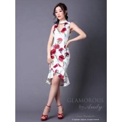 GLAMOROUS ドレス GMS-V510 ワンピース ミニドレス Andy グラマラスドレス クラブ キャバ ドレス パーティードレス