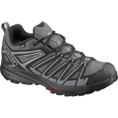 サロモン Salomon メンズ ハイキング・登山 シューズ・靴 X Crest GTX Waterproof Hiking Shoes Magnet/Black