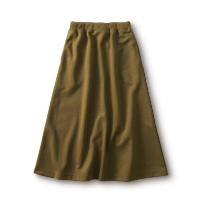 さらりとしたスウェットスカート and myera フェリシモ FELISSIMO