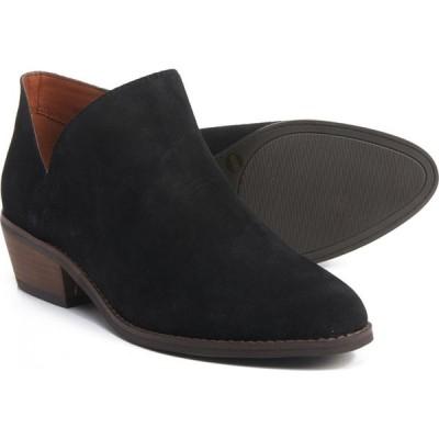 ラッキーブランド Lucky Brand レディース ブーツ ショートブーツ シューズ・靴 Fenley Ankle Boots - Suede Black