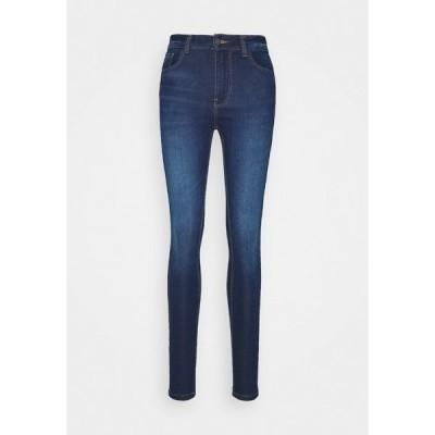 ジェイディーワイ デニムパンツ レディース ボトムス JDYNEWNIKKI LIFE HIGH - Jeans Skinny Fit - medium blue denim