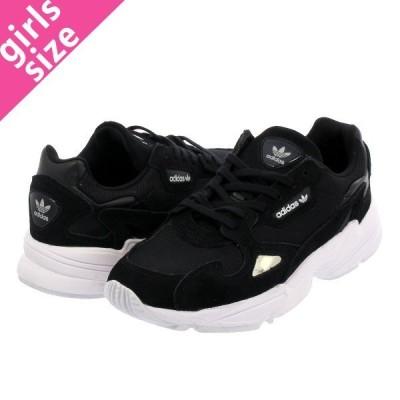 スニーカー レディース アディダス アディダスファルコン ウィメンズ adidas ADIDASFALCON W BLACK/WHITE b28129