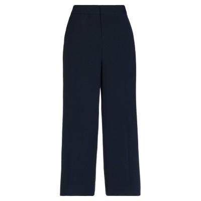 DKNY パンツ ダークブルー 2 ポリエステル 88% / ポリウレタン 12% パンツ