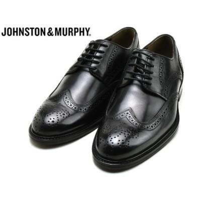 ジョンストン&マーフィー ウィングチップ JOHNSTON&MURPHY DALEY WINGTIP BLACK