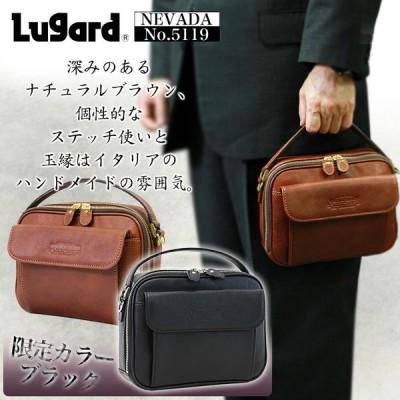 セカンドバッグ メンズ 本革 軽量 日本製 ショルダー Lugard(ラガード) NEVADA(ネヴァダ) クラッチバッグ