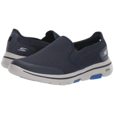 スケッチャーズ SKECHERS Performance メンズ スニーカー シューズ・靴 Go Walk 5 - Apprize Navy