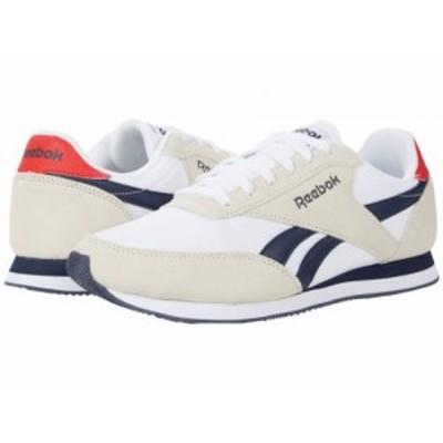 Reebok リーボック メンズ 男性用 シューズ 靴 スニーカー 運動靴 Royal Classic Jogger 2 White/Collegiate Navy/Primal【送料無料】