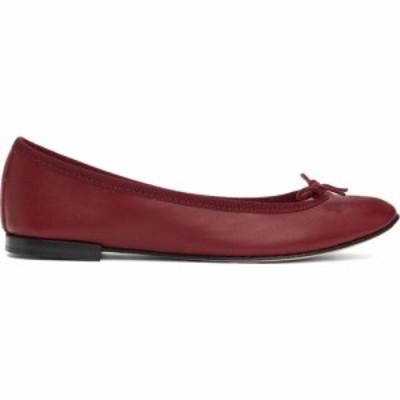 レペット Repetto レディース スリッポン・フラット シューズ・靴 Red Cendrillon Ballerina Flats Carmin red