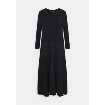 エスプリ レディース ワンピース トップス Maxi dress - black black