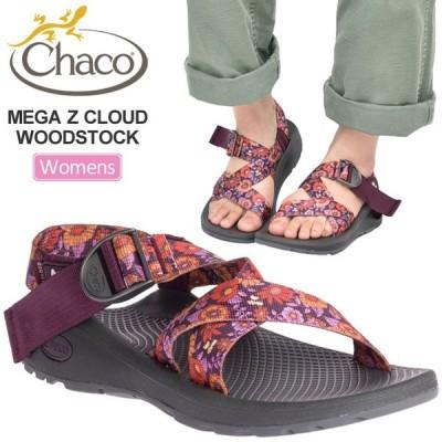 チャコ サンダル Chaco レディース メガZクラウド ウッドストック50周年記念モデル ブロッサムワイン  12365259/22-25cm WS MEGA Z CLOUD WOODSTOCK 正規取扱店