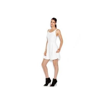 レイチェル ロイズ ドレス ワンピース フォーマル Rachel Rachel Roy Rachel Rachel Roy Lace-Up A-Li ホワイト M ホワイト MSRP119 LAFO