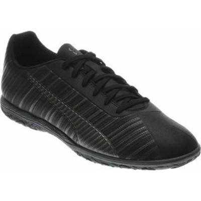 プーマ メンズ スニーカー シューズ PUMA Men's ONE 5.4 Indoor Soccer Shoes Black/Black
