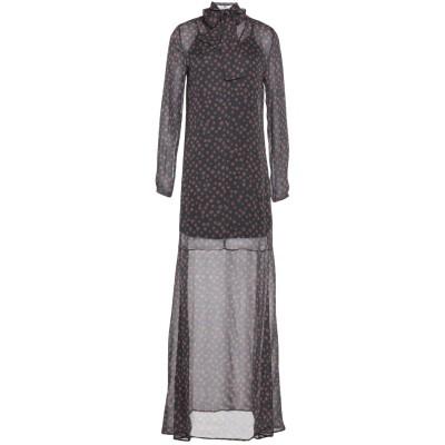 MR MASSIMO REBECCHI ロングワンピース&ドレス スチールグレー 40 レーヨン 100% ロングワンピース&ドレス
