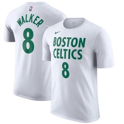ケンバ・ウォーカー Tシャツ tシャツ メンズ 半袖 ナイキ Nike NBA セルティックス 2020/21 シティエディション ホワイト