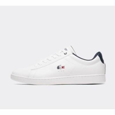 ラコステ Lacoste メンズ スニーカー シューズ・靴 carnaby evo trainer White/Navy/Red