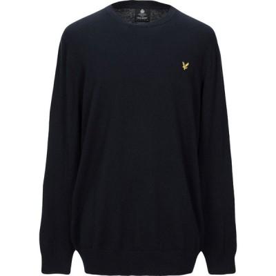 ライル アンド スコット LYLE & SCOTT メンズ ニット・セーター トップス Sweater Dark blue