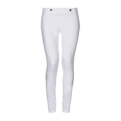 ラブ モスキーノ LOVE MOSCHINO パンツ ホワイト 40 コットン 97% / ポリウレタン 3% パンツ