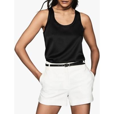 レイス シャツ レディース トップス Reiss Remey Silk Front Vest Top