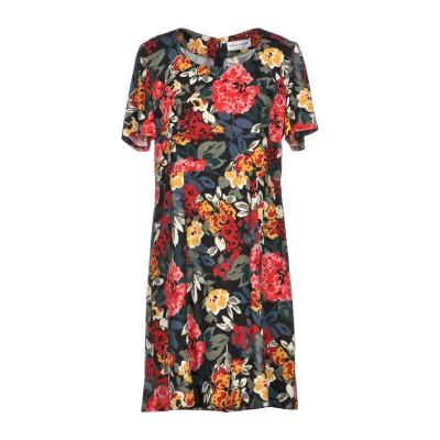 ソニア リキエル SONIA RYKIEL ミニワンピース&ドレス ブラック 36 レーヨン 100% ミニワンピース&ドレス