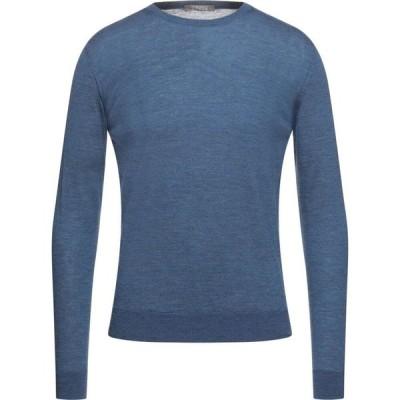 アンドレア フェンツィ ANDREA FENZI メンズ ニット・セーター トップス Sweater Pastel blue