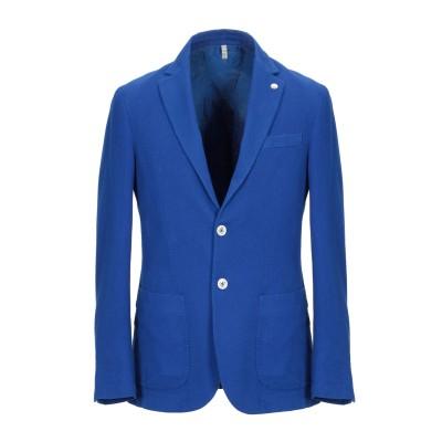 DOMENICO TAGLIENTE テーラードジャケット ブルー 46 コットン 97% / ポリウレタン 3% テーラードジャケット