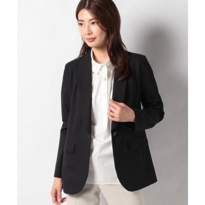 レリアンプラスハウス 【my perfect wardrobe】とろみジャケット(ネイビー)【返品不可商品】