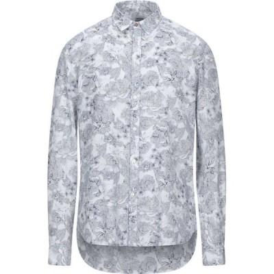 オフィチーナ トレンタ セイ OFFICINA 36 メンズ シャツ トップス Patterned Shirt White