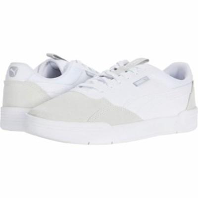 プーマ PUMA メンズ スニーカー シューズ・靴 C-Skate Puma White/Puma White