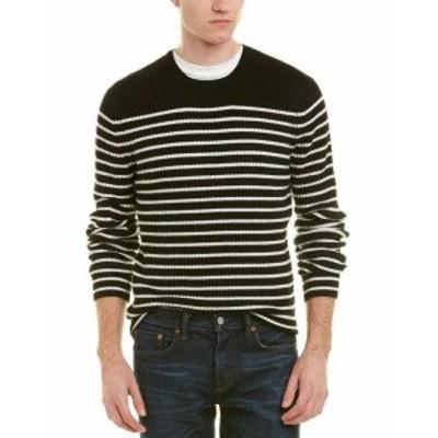 Vince ヴィンス ファッション トップス Vince Bretton Crewneck Sweater L Black