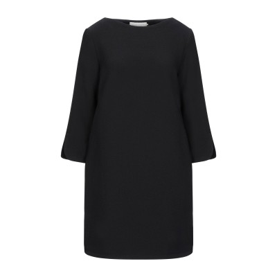 ロートレ ショーズ L' AUTRE CHOSE ミニワンピース&ドレス ブラック 44 ウール 100% ミニワンピース&ドレス