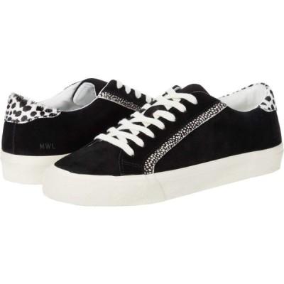 メイドウェル Madewell レディース スニーカー ローカット シューズ・靴 Sidewalk Low Top Sneakers Black/Ivory Multi