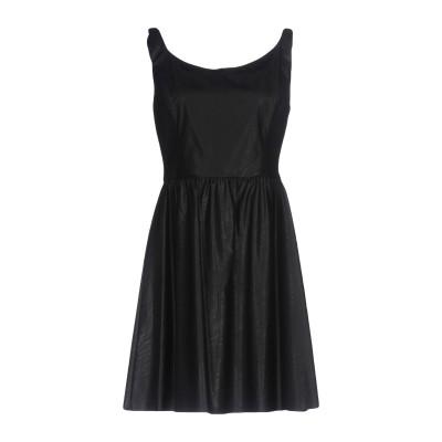 ピンコ PINKO ミニワンピース&ドレス ブラック 44 100% レーヨン ポリエステル ポリウレタン ミニワンピース&ドレス