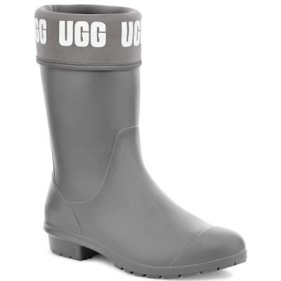 アグ ブーツ&レインブーツ シューズ レディース Women's Sienna Matte Graphic Rain Boots Charcoal