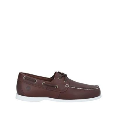 ティンバーランド TIMBERLAND メンズ ローファー シューズ・靴 loafers Dark brown