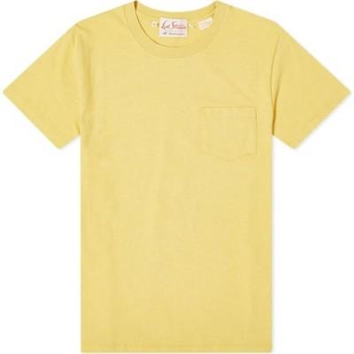 リーバイス Levis Vintage Clothing メンズ Tシャツ トップス 1950s sportswear tee Misted Yellow