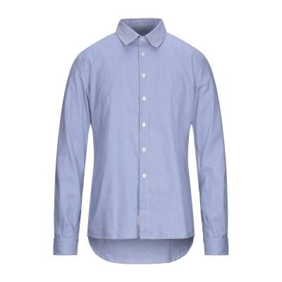 ALESSANDRO GHERARDESCHI シャツ ブルー XL コットン 100% シャツ
