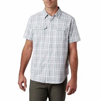 コロンビア シャツ トップス メンズ Silver Ridge 2.0 Multi Plaid Short Sleeve Shirt Rain Forest Grid Plaid