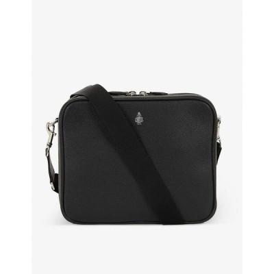 マーククロス MARK CROSS メンズ メッセンジャーバッグ ショルダーバッグ バッグ Baker leather cross-body bag BLACK