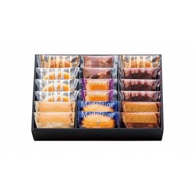 洋菓子 ギフト 贈り物 詰め合わせ おしゃれ 手土産 お菓子 焼菓子 個包装 プレゼント 送料無料 ファクトリーシン エクセレント 18個