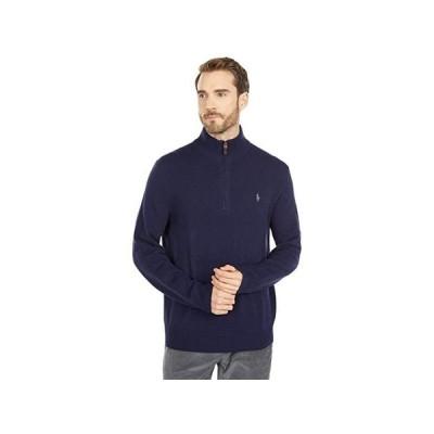 ポロ・ラルフローレン Wool-Cashmere Sweater メンズ セーター Hunter Navy