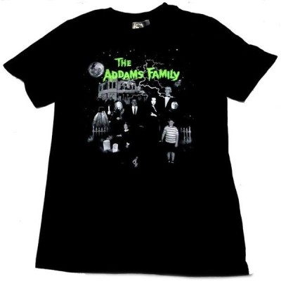【THE ADDAMS FAMILY】アダムスファミリー「FAMILY HOUSE」Tシャツ