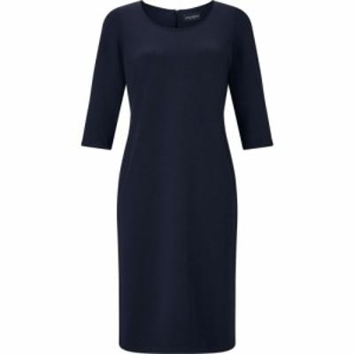 ジュームズ レイクランド James Lakeland レディース ワンピース シフトドレス ワンピース・ドレス Classic Tailored Shift Dress Navy
