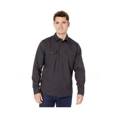 Flylow メンズ 男性用 ファッション ボタンシャツ Bros? Work Shirt - Charcoal