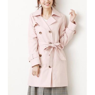 ナノ加工ピーチギャバトレンチコート (コート)(レディース)Coat
