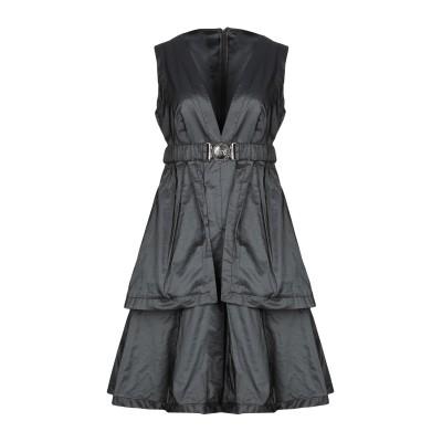 X'S MILANO ミニワンピース&ドレス ブラック 44 ポリエステル 100% ミニワンピース&ドレス