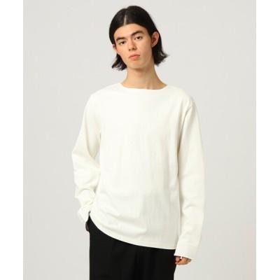 tk.TAKEO KIKUCHI / 無地長袖バスクシャツ MEN トップス > Tシャツ/カットソー