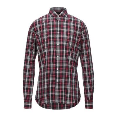 XACUS シャツ ボルドー 41 コットン 100% シャツ