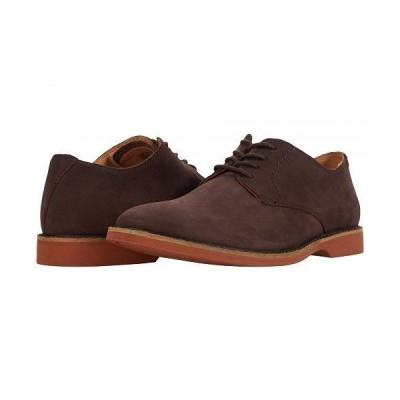 Clarks クラークス メンズ 男性用 シューズ 靴 オックスフォード 紳士靴 通勤靴 Atticus Lace - Dark Brown Suede