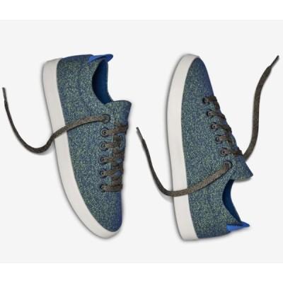 allbirds オールバーズ シューズ スニーカー Wool Pipers ウールパイパー Garden Blue (White) メンズ 天然素材 取り寄せ